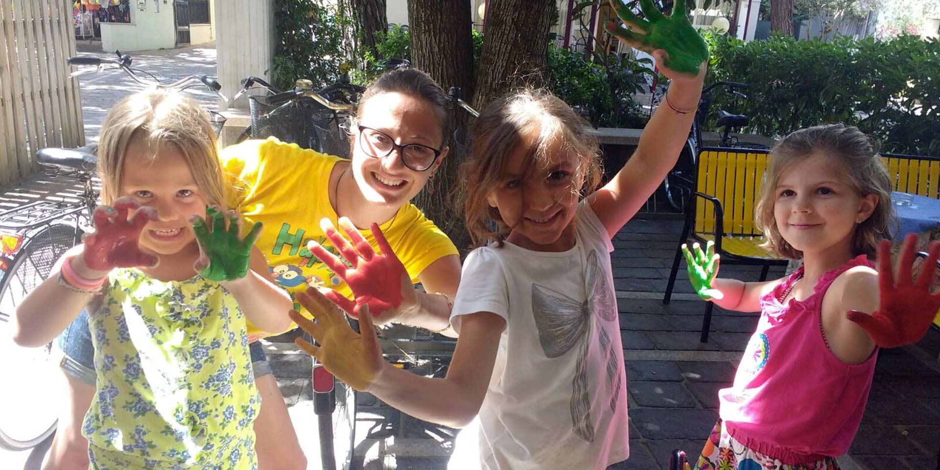 Divertimento<span>Una vacanza ricca di emozioni per i nostri piccoli ospiti</span>